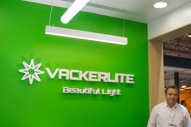 Vackerlite Booth at IstanbulLight Fair Sept 2017