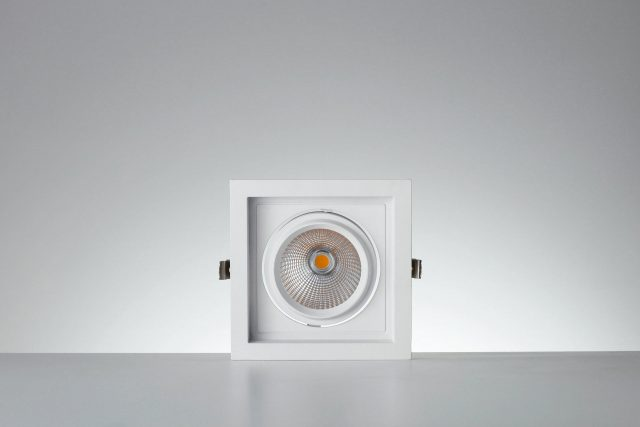 Vackerlite Lava Square Downlight Spot