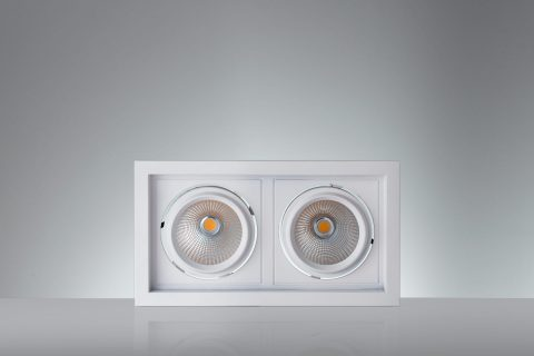 Vackerlite Lava Duo Downlight Spot