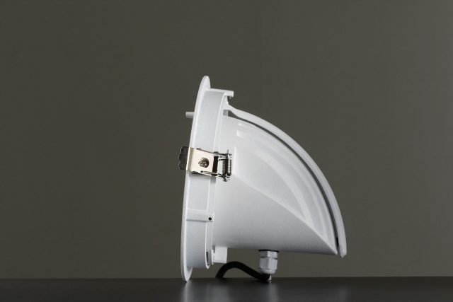 "Vackerlite Malm ""Snail"" Adjustable Spot Sideview 2"