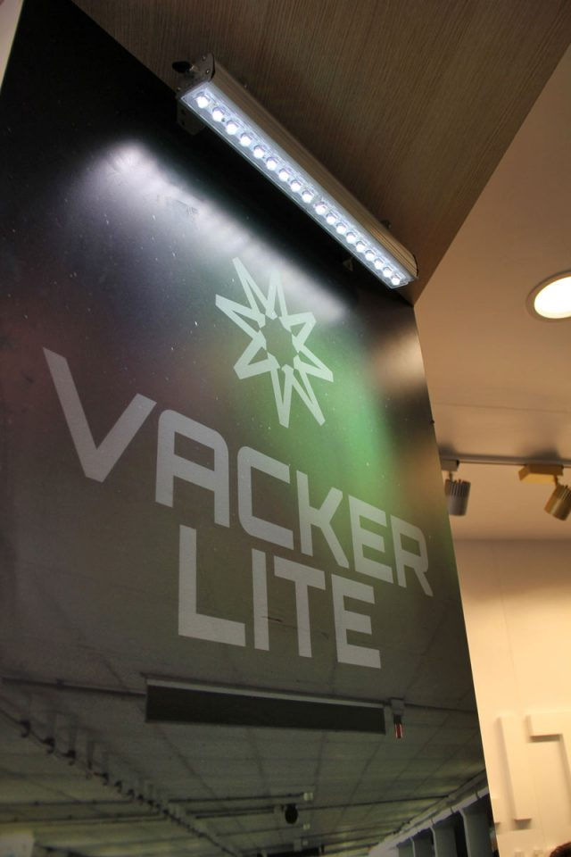Vackerlite Wallwasher On at IstanbulLight Fair Sept 2017